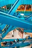 Emporia Shopping Center. MALMO, SWEDEN - SEPTEMBER 13: Emporia Shopping Center on September 13, 2013 in Malmo. Luxury shopping mall designed by architect Gert Royalty Free Stock Photos