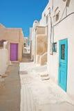 Emporio à l'île de Santorini en Grèce Images libres de droits