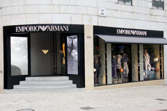 Emporio Armani shop Stock Photography