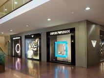 Emporio Armani store Royalty Free Stock Photo