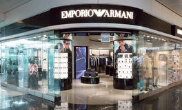 Emporio Armani store in Munich airport Royalty Free Stock Images