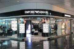 Emporio Armani store Stock Photography