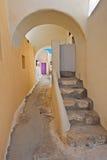 Emporio, Santorini, Grèce Photographie stock libre de droits