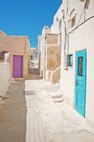 Emporio at Santorini island in Greece Royalty Free Stock Images
