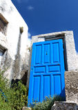 Emporio village at Santorini, Greece Royalty Free Stock Photography