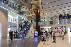 Emporium Melbourne robi zakupy Australia Obraz Royalty Free