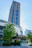 Emporium shopping mall at BTS Phrom Phong station Royalty Free Stock Photography