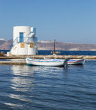 Empourios, Milos island, Cyclades, Greece Stock Photography