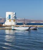 Empourios, Milos island, Cyclades, Greece Stock Photography
