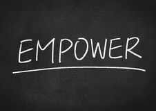 Empower concept Royalty Free Stock Image