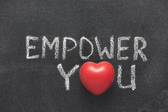 Empower you heart Stock Images