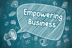 Empowering Business - Business Concept. Stock Photography