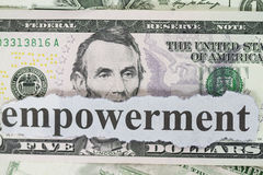 Empowerment Royalty-vrije Stock Foto's