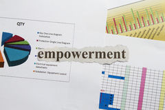 Empowerment Royalty Free Stock Photography