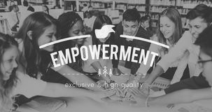 Empowerment Authority Empowering Permission Progress Concept. Empowerment Authority Empowering Permission Progress Stock Photography