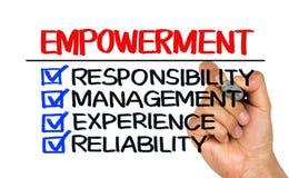 Empowerment concept Stock Photo