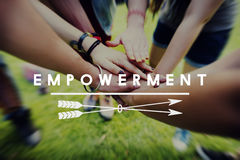 Empowerment Enable Improvement Progress Concept Stock Images