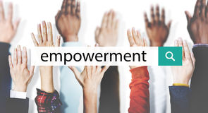 Empowerment Motivate Inspire Lead Concept royalty free stock photo