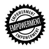 Empowerment rubber stamp. Grunge design with dust scratches. Effects can be easily removed for a clean, crisp look. Color is easily changed Stock Image