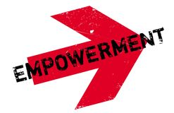 Empowerment rubber stamp Royalty Free Stock Photo