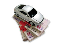 Empréstimo de carro Foto de Stock Royalty Free