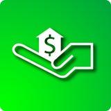Empréstimo hipotecario Imagem de Stock