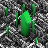 Empréstimos, débito e finanças Imagem de Stock Royalty Free