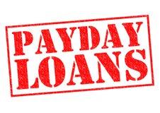 Empréstimos do dia de pagamento Foto de Stock
