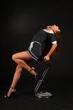 Empregada doméstica da câmara no terno conventionalized erótico Imagem de Stock Royalty Free