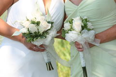 Empregada doméstica da noiva Fotografia de Stock Royalty Free