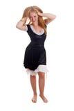 Empregada doméstica de Flirty Fotografia de Stock