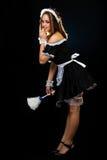 Empregada doméstica francesa Fotos de Stock Royalty Free