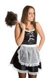 Empregada doméstica francesa 'sexy' Fotos de Stock