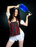 Empregada doméstica 'sexy' Imagem de Stock Royalty Free