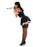 Empregada doméstica 'sexy' Fotografia de Stock