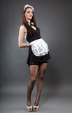 Empregada doméstica 'sexy' Fotos de Stock Royalty Free