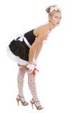 Empregada doméstica 'sexy' nova Foto de Stock
