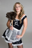 Empregada doméstica consideravelmente francesa Fotografia de Stock Royalty Free