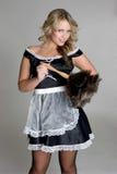 Empregada doméstica francesa Imagens de Stock Royalty Free