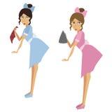 Empregadas domésticas Fotografia de Stock