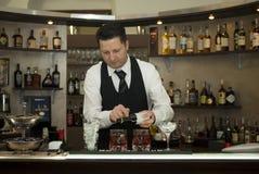 Empregado de bar Foto de Stock