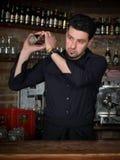 Empregado de bar Imagem de Stock