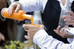 Empregado de bar e cocktail Foto de Stock Royalty Free
