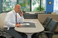 Empregado de escritório corporativo Fotografia de Stock