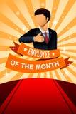 Empregado do quadro do cartaz do mês Imagens de Stock Royalty Free