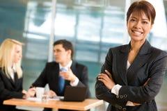 Empregador alegre Imagem de Stock