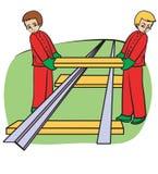 Empregados Ilustração Stock