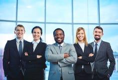 Empregados bem sucedidos Fotos de Stock Royalty Free