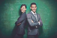 Empregados seguros Fotografia de Stock Royalty Free