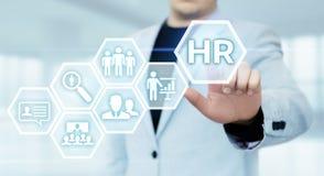 Emprego do recrutamento da gestão da hora dos recursos humanos que caça cabeças o conceito imagens de stock royalty free